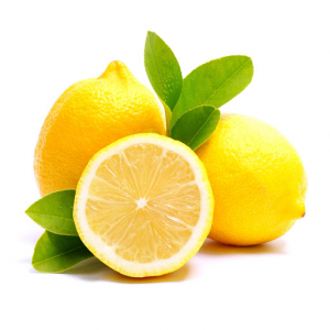 citrom krokant (habcsók darabokkal)